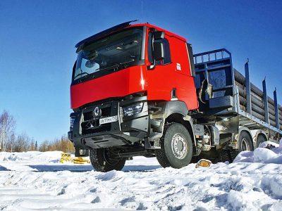 В России нашли новый вид стройматериалов для дорог. Это лед и снег