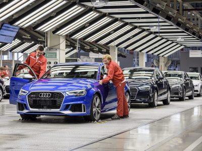 A Waberer's Szemerey megnyerte a győri Audi logisztikáját