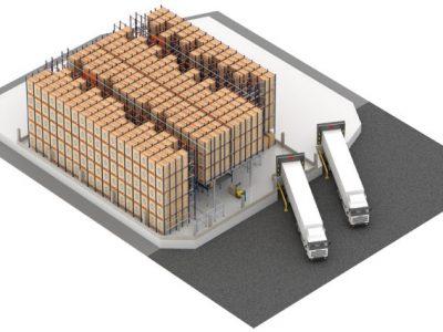Logistika 4.0 praktikoje. Kaip Pallet Shuttle padidina konditerijos ir kepimo pramonės logistikos efektyvumą