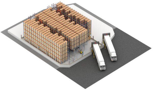 Logistika 4.0 praktikoje. Kaip Pallet Shuttle padidina konditerijos ir kepimo pramonės logistikos ef