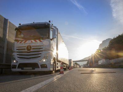 Austria implementează un sistem de control al camioanelor complet automatizat
