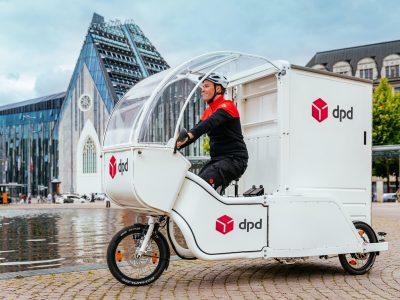 DPD setzt in Leipzig Lastenräder ein