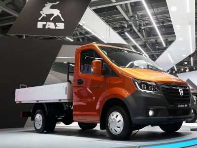 The Russians presented a new delivery van. Will Gazelle conquer Europe?