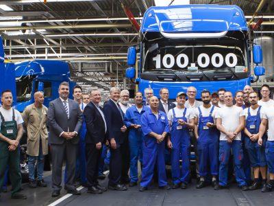 DAF knackt 100.000er Marke