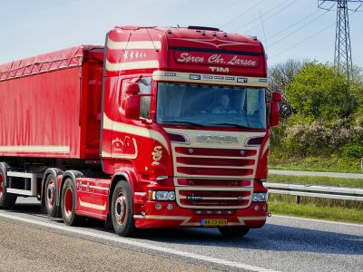 Scania introduces a new alarm. It might be a big hit in parking lots.