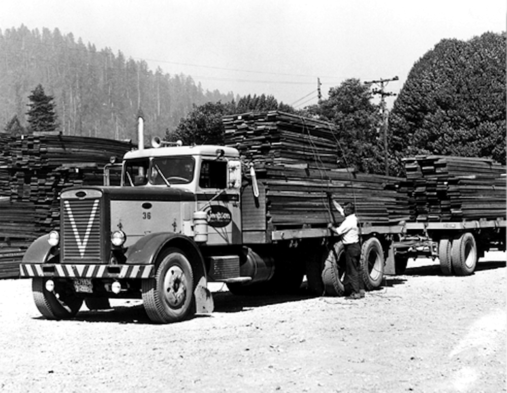 Historia transportu – odc. 86. O tym, jak amerykańscy truckerzy zagrali na nosie namolnym stróżom prawa