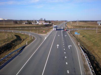 """Baigtas rekonstruoti Panevėžio aplinkkelis, svarbus magistralės """"Via Baltica"""" ruožas"""