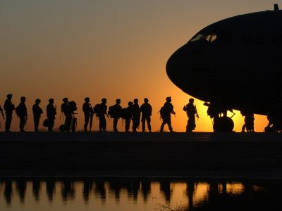 Former soldiers are the perfect candidates for a job in logistics?