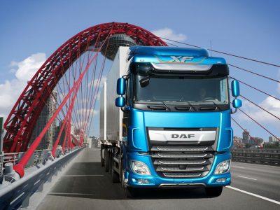 DAF показал новые грузовики CF и XF стандарта Евро-5 для российского рынка