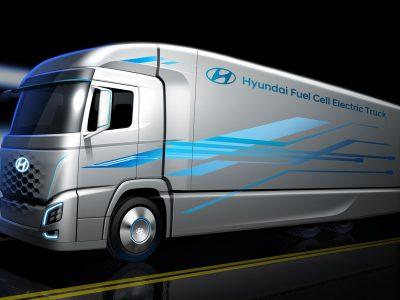 Hyundai und H2 Energy mit weltweit erster Brennstoffzellen-LKW-Flotte