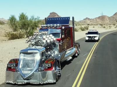 Ты не сможешь пройти мимо этого грузовика безразлично. Шедевр или китч за 7 млн долларов?