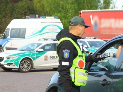 Šalies keliuose – policijos pareigūnų reidas. Akcija vyks iki rugsėjo 22 d.
