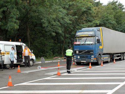 Ukraina montuje nowoczesne systemy ważenia ciężarówek i podnosi stawki mandatów. Zagraniczni truckerzy nie będą bezkarni