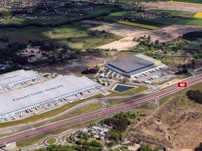 Nowe centrum logistyczne rośnie na granicy Kujaw i Pomorza
