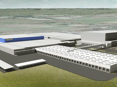 Ruszyła rozbudowa centrum Ikei w Jarostach. Firma zapewnia, że poprawi się przepustowość na rampach