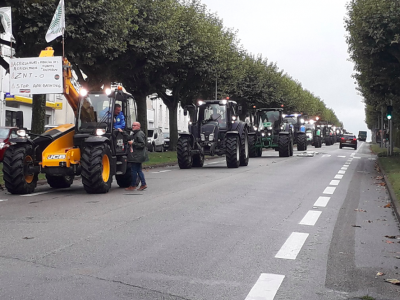French farmers are protesting today. There will be roadblocks and various obstacles.