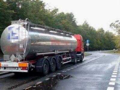 Длинный перечень нарушений при перевозке опасных грузов украинской компанией удивил инспекторов