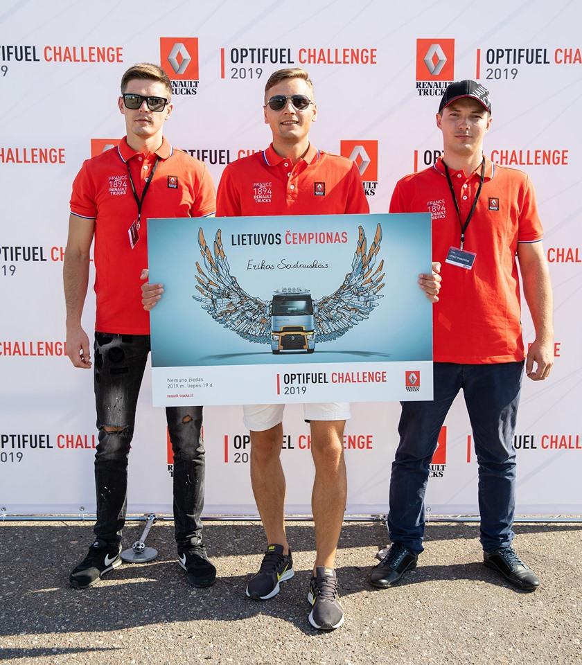 Renault Trucks Optifuel Challenge 2019 Lietuvos finalas