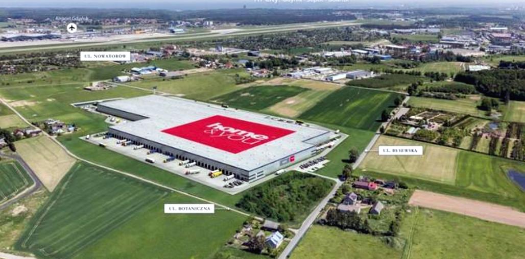 W sąsiedztwie lotniska w Gdańsku staną cztery magazynowe hale