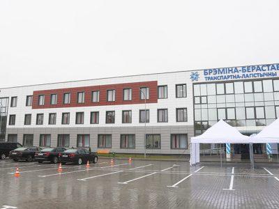 """Рядом с пунктом пропуска """"Берестовица"""" возле границы с Польшей открылся крупный транспортно-логистический центр"""