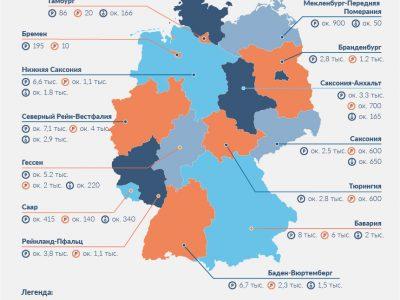 Будущее на немецких стоянках для грузовиков. Эта карта показывает все