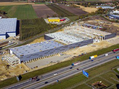 Przy autostradzie A4 powstaje nowe centrum logistyczne