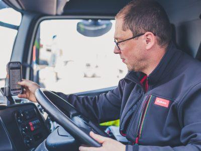 Peste 5000 de șoferi Raben au primit terminale mobile multifuncționale