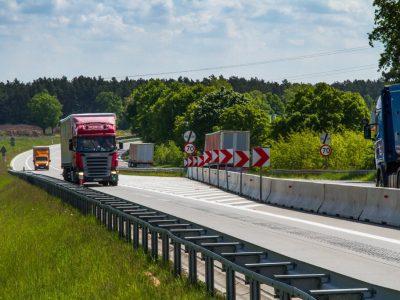 O nouă interdicție de depășire aplicabilă camioanelor în Polonia