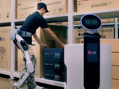 See how exoskeletons can help in a warehouse