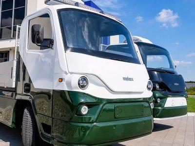 """Štai naujoji """"Melex"""" transporto priemonė. Ar konkuruos su kitais furgonais?"""