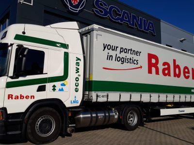 Raben își completează flota cu remorci și containere eco