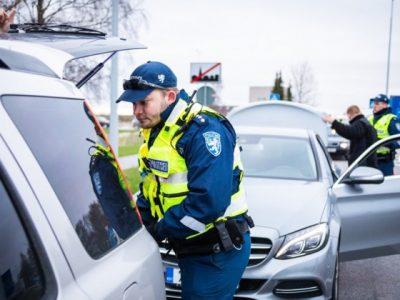 Poliția din Estonia are o nouă strategie pentru sancționarea șoferilor care încalcă legea