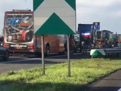 Olanda: Drumuri blocate de protestele constructorilor