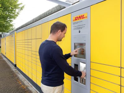 DHL will develop the network of parcel machines