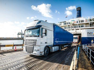 Krovininis transportas tarp Jungtinės Karalystės ir ES nuo 2021 m. Vadovas vežėjams