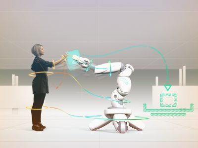 Cobots are useful in logistics when it comes to replacing people in basic activities