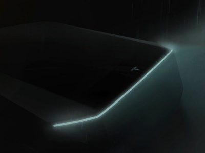 The mysterious Cybertruck Tesla will be unveiled today. It will be faster than a Porsche 911 and more practical than a pick-up.