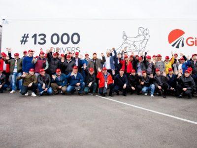 Girteka a depășit pragul de 13.000 de șoferi și plănuiește să crească acest număr