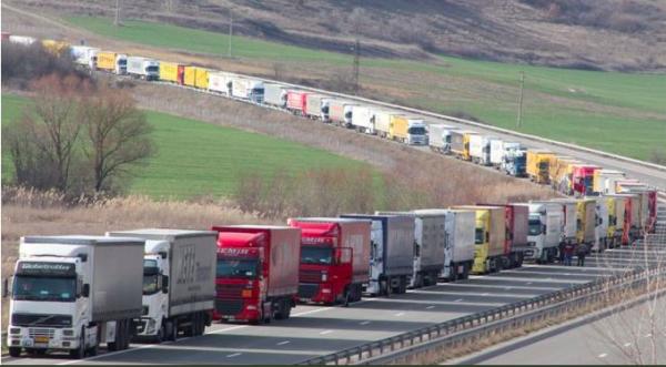 Vežėjų streikas Prancūzijoje. Vežėjų ir vairuotojų gali laukti dideli sunkumai