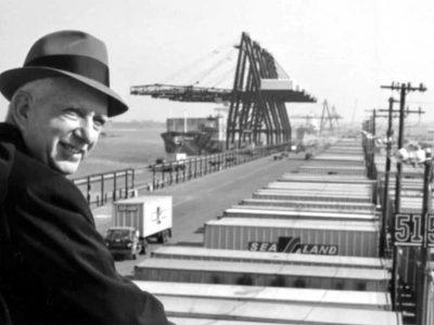 Historia transportu – odc. 95. O pierwszych przewozach naczep koleją i kontenerowym prekursorze