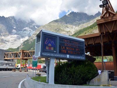 Технические работы в тоннеле Mont Blanc в ноябре и декабре 2019 г.