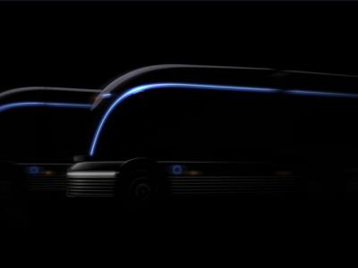 Корейцы представили концепцию грузовика на водороде. Он выглядит, как из космоса
