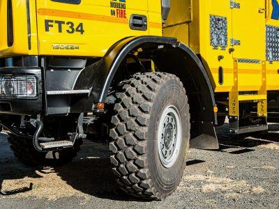 Új jelölés a gumiabroncsokon. A teherautók számára is.