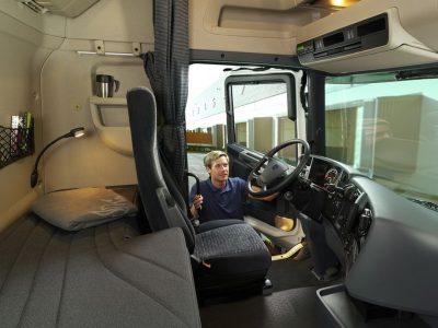 За отдых в кабине в Италии штраф может получить также перевозчик