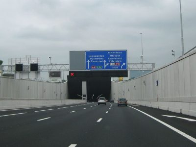 Night tunnel closures on the Amsterdam bypass