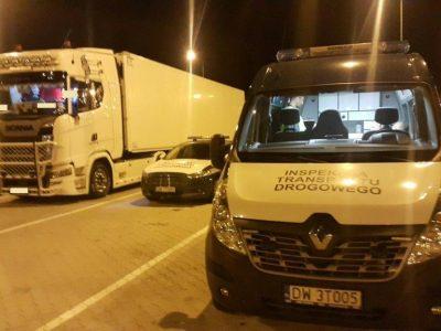 ITD złapało cztery ciężarówki tego samego przedsiębiorcy. We wszystkich wykryło manipulacje czasem pracy!