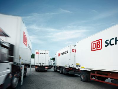 German logistics giant temporarily suspends services to the UK