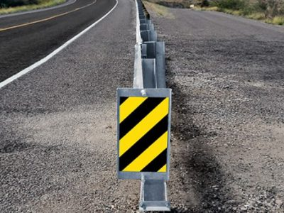 CNAIR montează atenuatori de impact pe autostrăzi