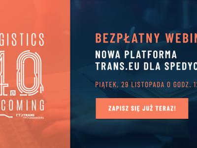 Nowa Platforma Trans.eu – zapisz się na bezpłatny webinar