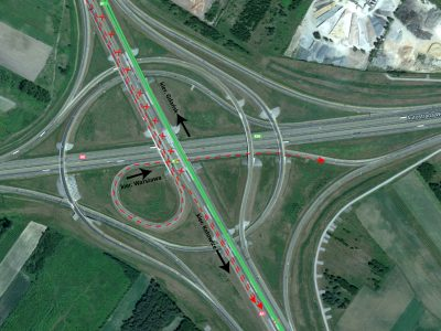 Zmiany na węźle A1 i A2 – Łódź Północ